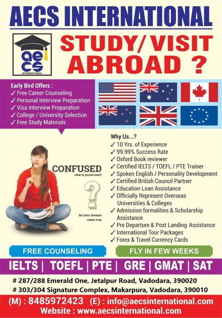 AECS INTERNATIONAL is an Overseas Educational Consultant