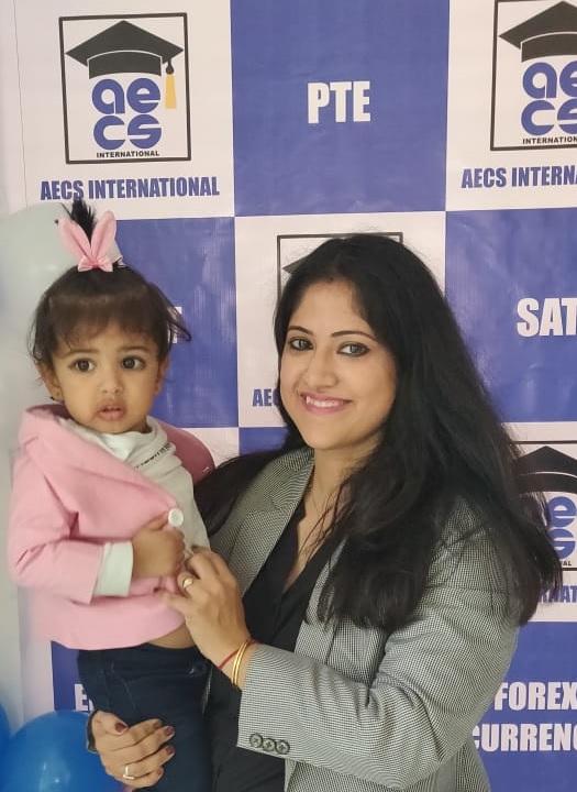 AECS INTERNATIONAL director Shweta Gupta